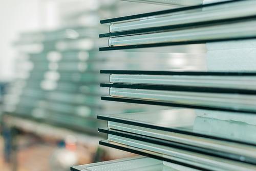 Multi-layered laminated glass